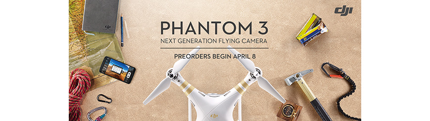 DJI Phantom 3 Profeesional and Advanced
